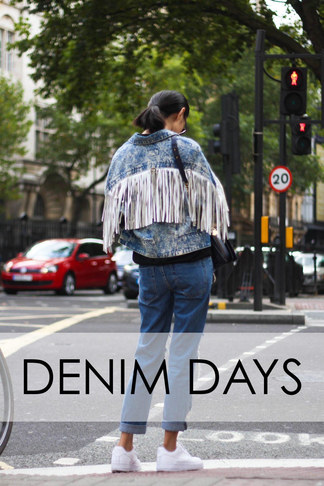 denim days slide first