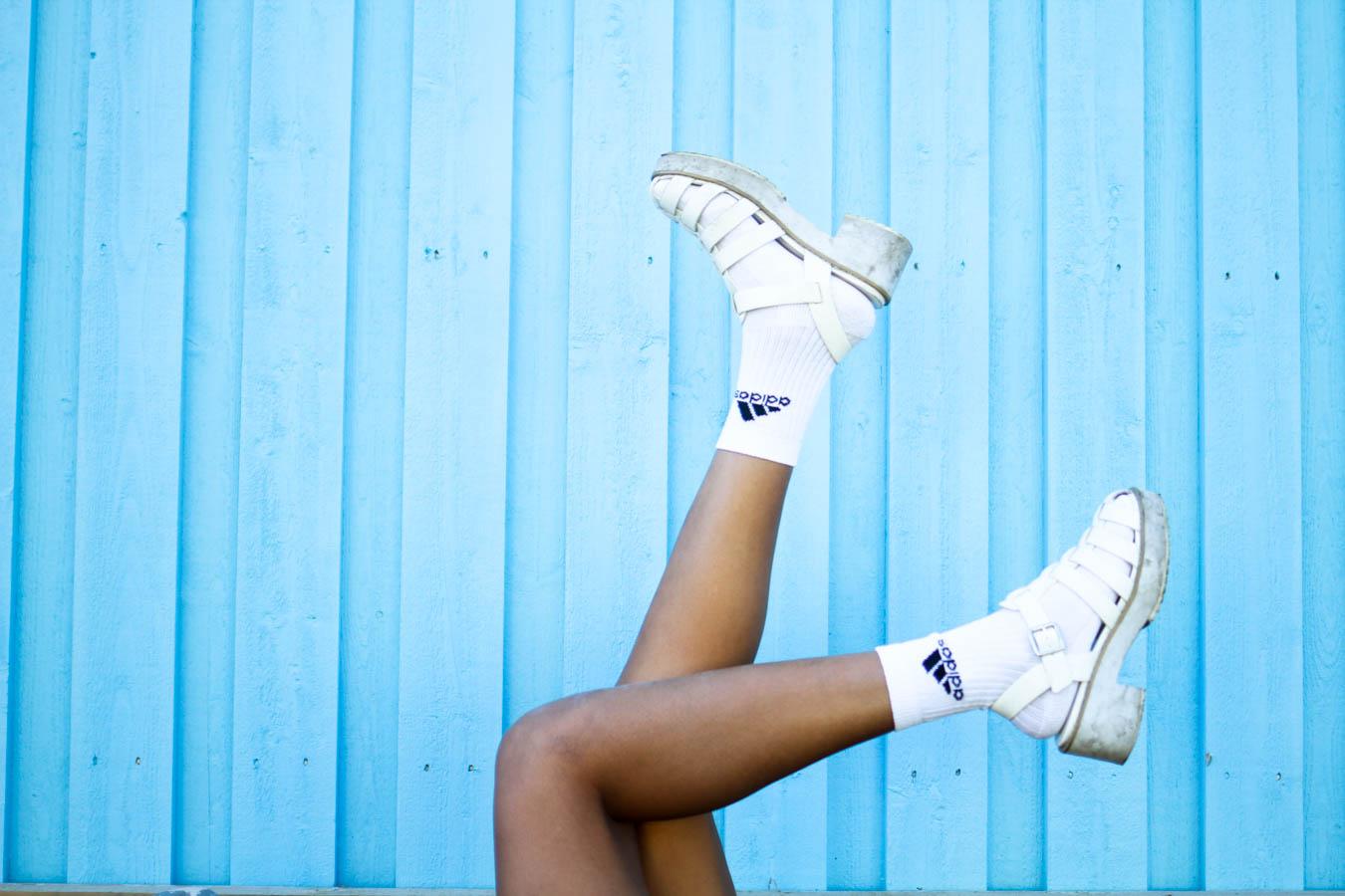 fatima osman adidas blue