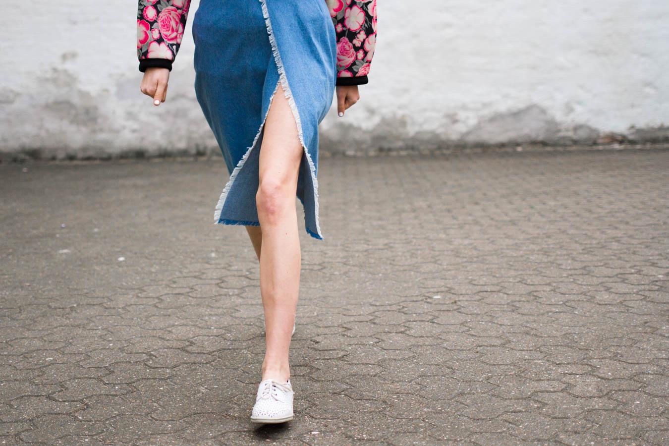 denim skirt-1