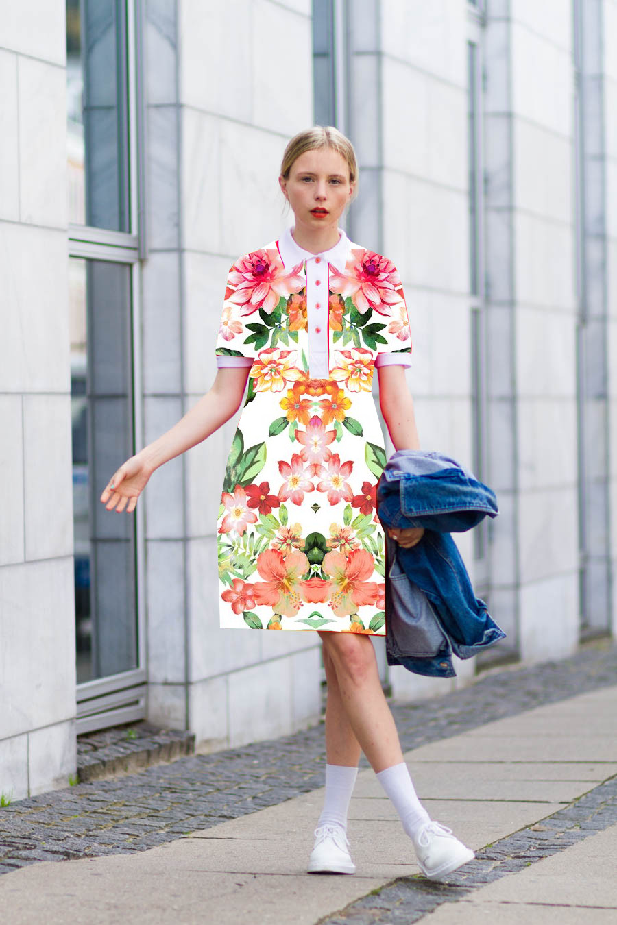 outfitjune nemesis babe marie jensen danish blogger  orange 60 outfit doc marten shoes-2