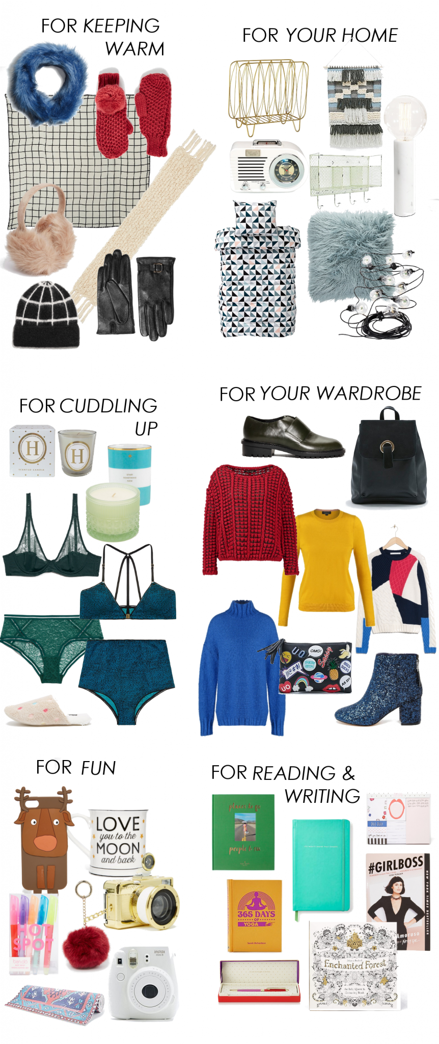 CHRITMAS GIFT GUIDE WISHES