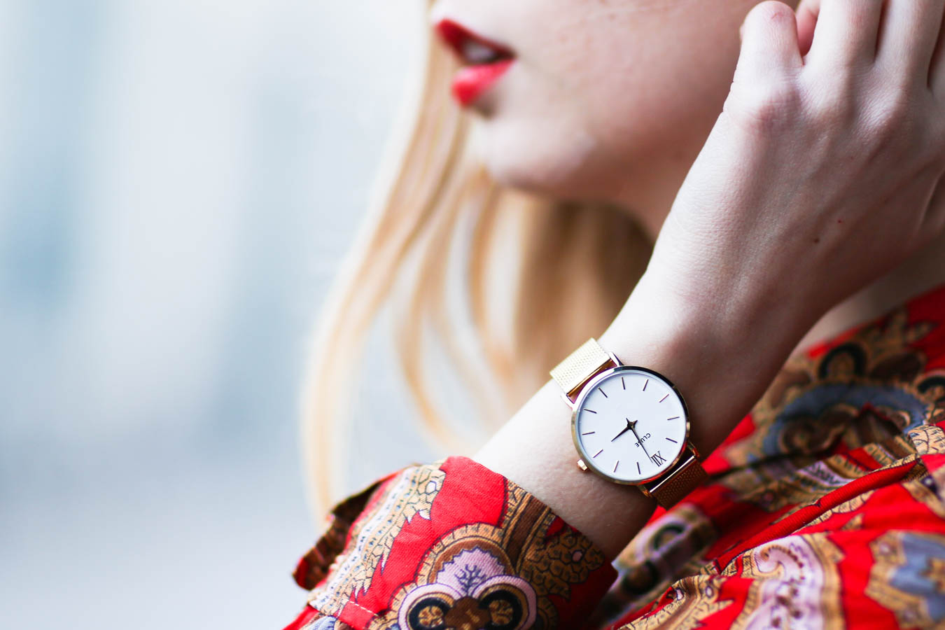 nemesis babe cluse watches collaboration blogger marie my-6