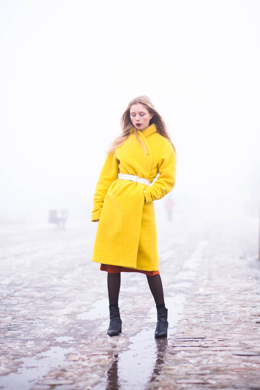 outfit january nemesis babe marie jensen danish blogger yellow coat bitte kai rand-3