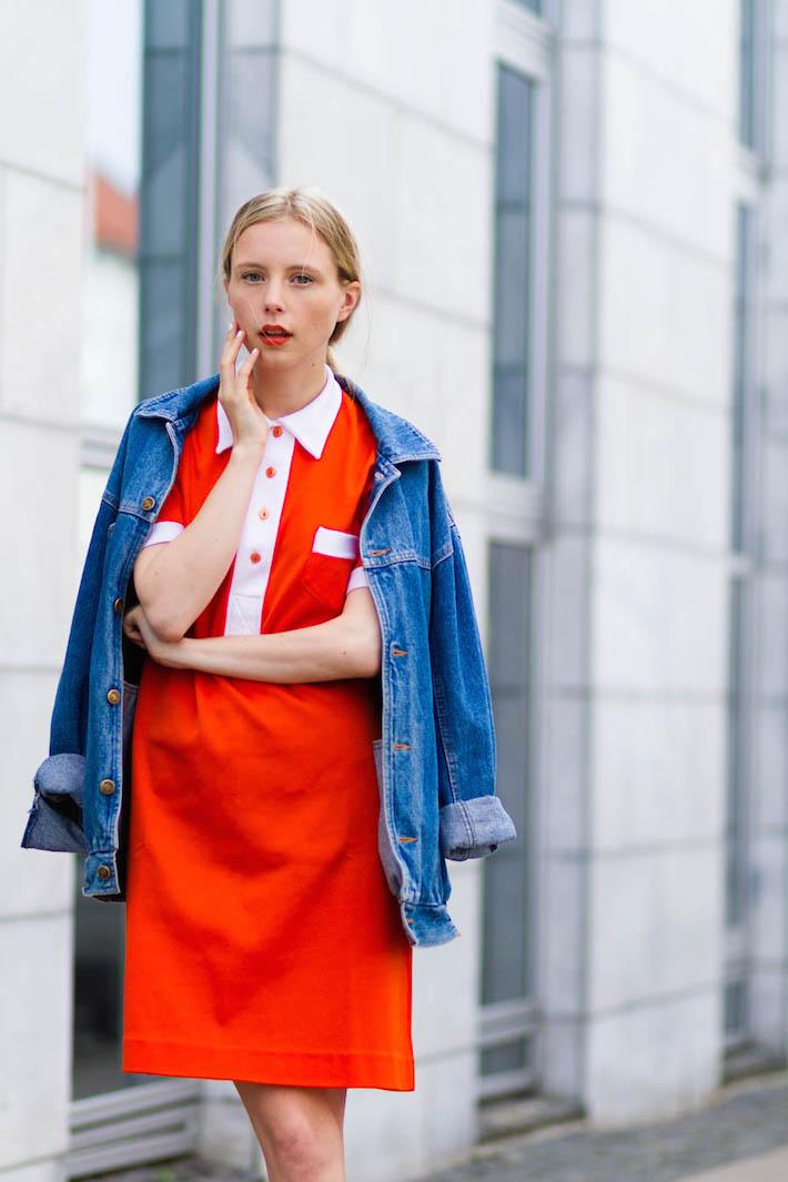 outfitjune nemesis babe marie jensen danish blogger orange 60 outfit doc marten shoes-4
