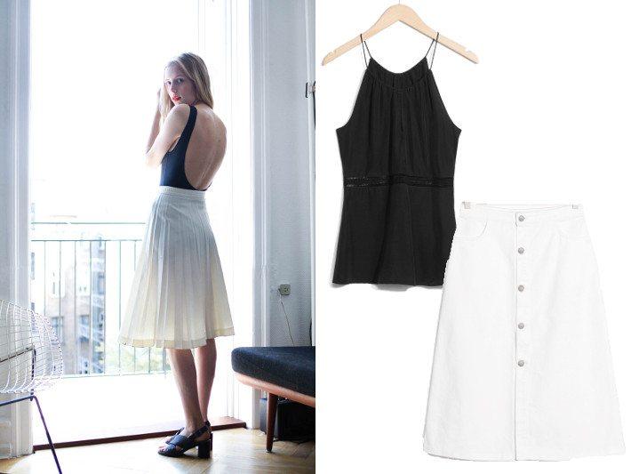 3 ways to wear nemesis babe marie my midi skirts-2party