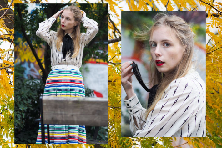 outfit-october-fall-16-nemesis-babe-marie-my-jensen-danish-blogger-leaves-stripes-baum-shirt-vintage-skirt-2-2collage