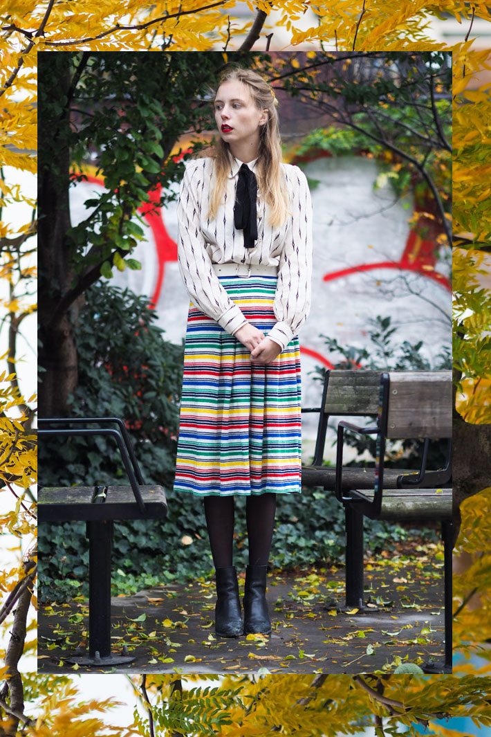 outfit-october-fall-16-nemesis-babe-marie-my-jensen-danish-blogger-leaves-stripes-baum-shirt-vintage-skirt-8-collage